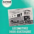 Docs en vrac. Les locomotives Diesel-Electriques type