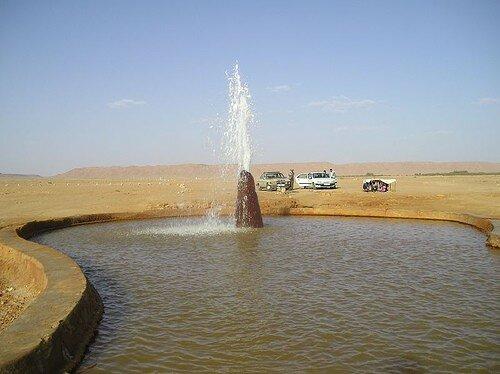Fontaine Desert Maroc