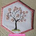 Hexagone n°22: le pommier en fleurs