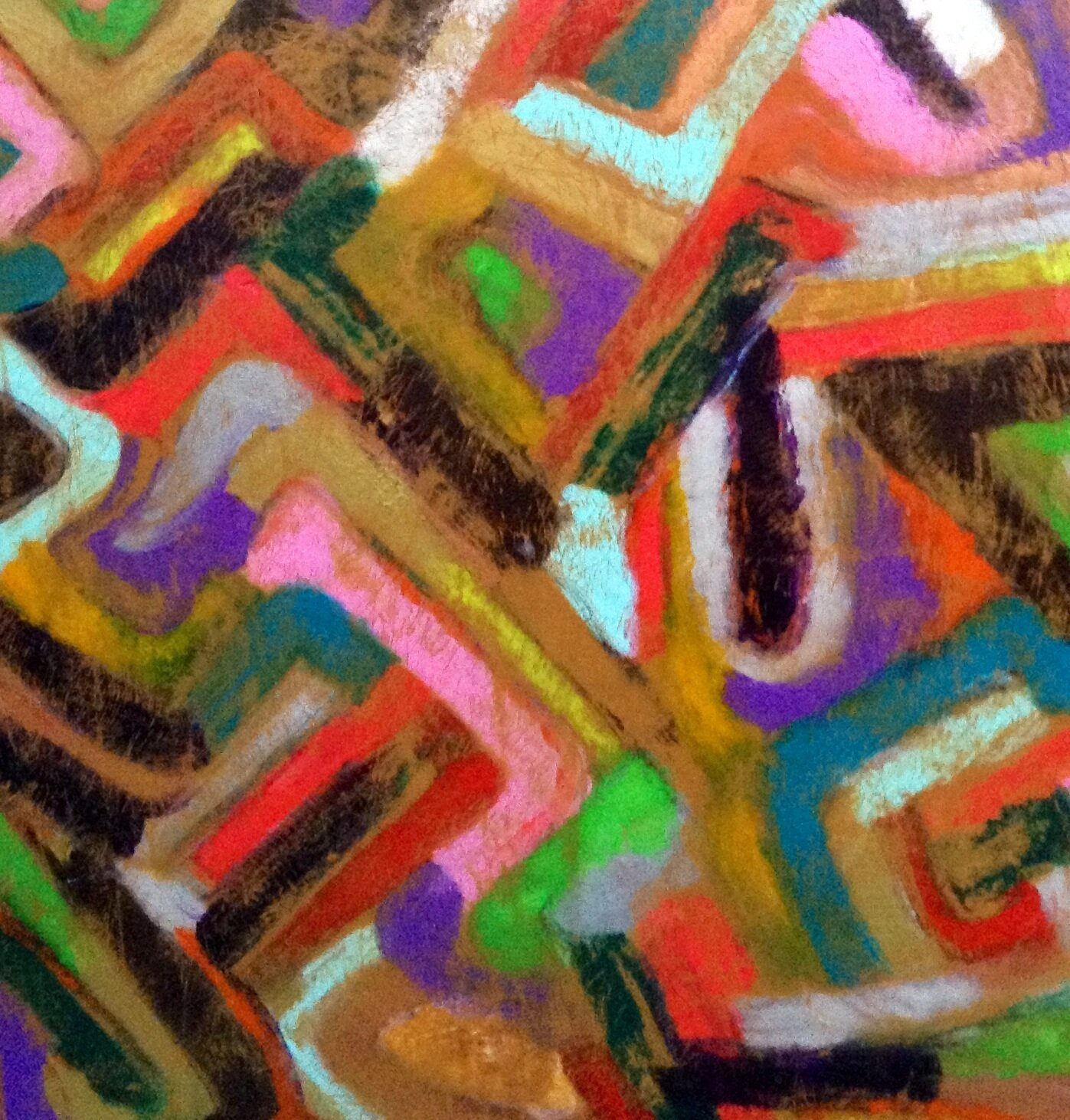 Abstraction 4 - 100X100