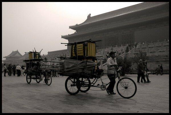 Vélos dans la cité
