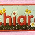 Carton-mousse Chiara