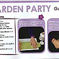 creative magazine, guirlande garden party