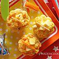 Mini cake au surimi, curry et à la vache qui rit®