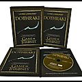 Game of Thrones - Living Language <b>Dothraki</b> - David J. Peterson - Editions Living Language