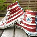 Converse Battle ... <b>BleachBlack</b> VS Sunrise !!!