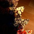 châles et fibules papillons de Silo
