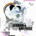 Gay pride in marseille