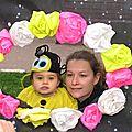 Mére et enfant abeille