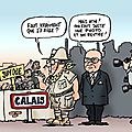 ps hollande casevide humour calais jungle