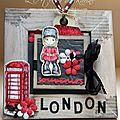 Atelier anniversaire .... cadre london