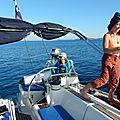 Croatie, de Kaprije à Biograd via Zilje — Vendredi 1er novembre 2019 — Training cruise in <b>Croatia</b>: from Kaprije to Biograd