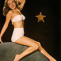 1946, Portraits Studio - Pin-Up Marilyn en bikini par <b>Bruno</b> <b>Bernard</b>