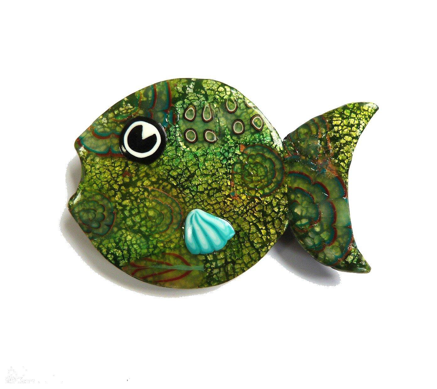 poisson vert- 5