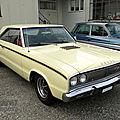 <b>Dodge</b> Coronet R/T hardtop coupe-1967