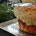 Soupe en croute au foie gras façon Bocuse