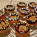 Faux mini donut's cannelle et fleur d'oranger