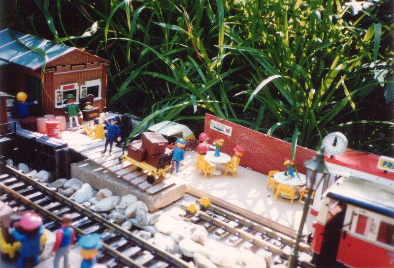 Ambiance à Villefort 1991 (marchandises et snack)