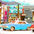 Nouvelle vente : toile road 66 (60x80)