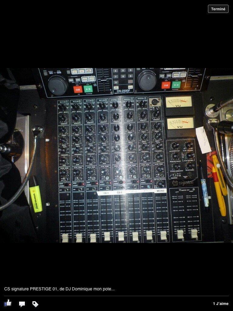 table de mixage cs signature