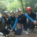 Week-end anniversaire et initiation canyoning