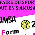 Cours de <b>Zumba</b>, Fit and <b>Zumba</b> kids