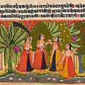 Exhibition of Indian paintings passed 'From Hand to Hand' opens at Krannert Art Museum