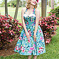 The <b>Vintage</b> Dress is Back in Force This Summer!