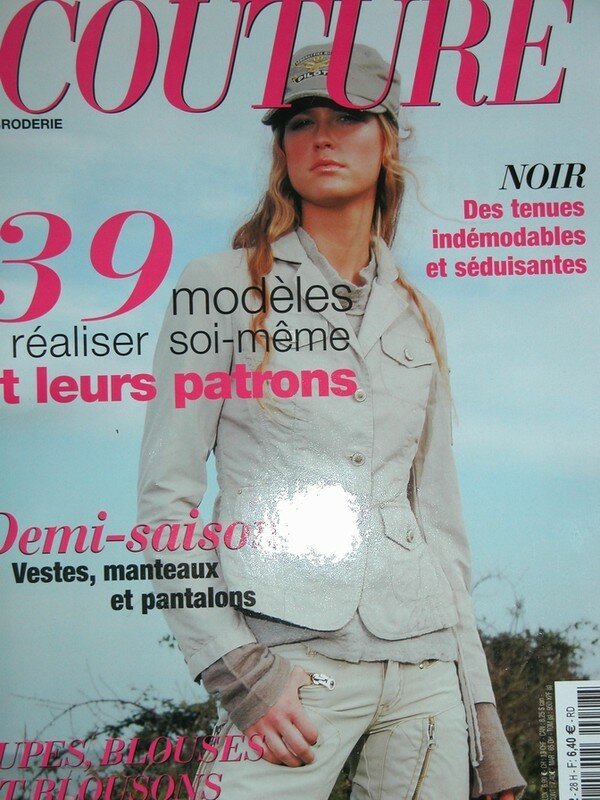 magazine idees couture-planches patrons incluses
