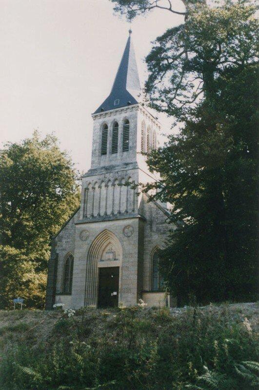 Temple à La Queue d'Aronde