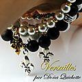 Collection versailles - bracelet stretch femme perles nacrées swarovski
