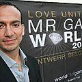 Mr gay monde 2013 se déroulera à anvers du 1 au 5 août !