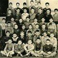 1957 l' école Lamoricière CM 2 n°34