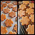 Petits biscuits de pâques aux amandes