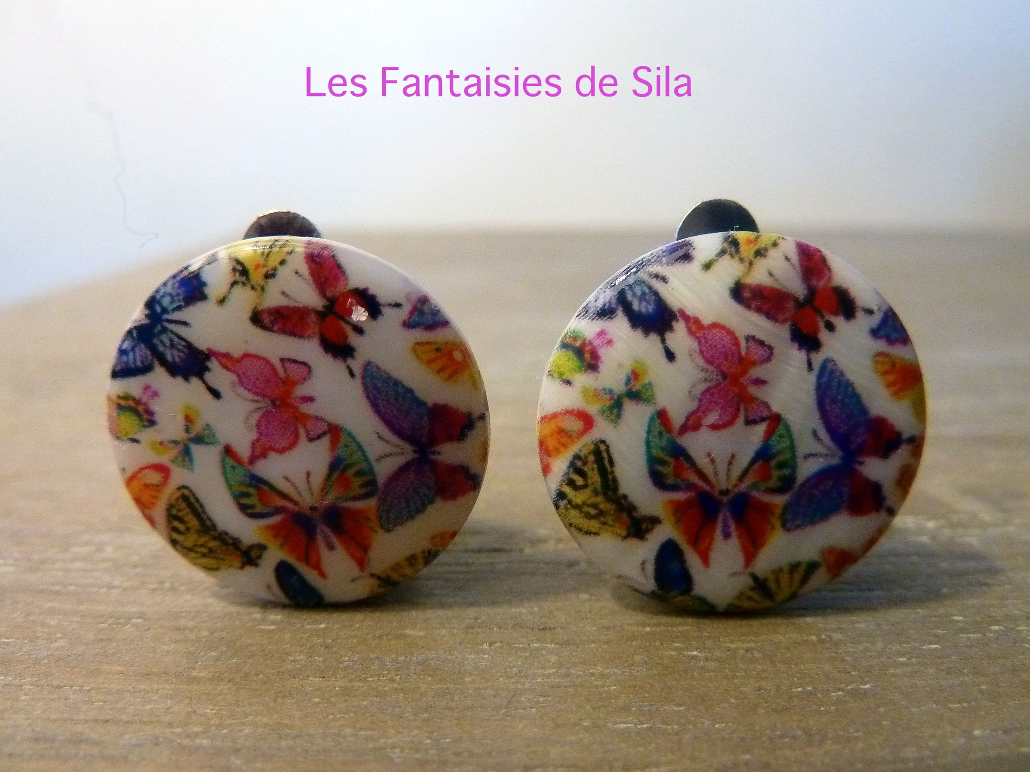 Clips Butterfly 15 euros