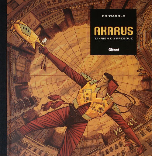 couverture Akarus tome 1