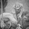 Medic helmet in La <b>Haye</b> du <b>puits</b>...
