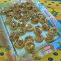 Mini tartelettes aux oignons