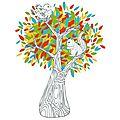 L'arbre aux mille couleurs