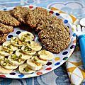 Cookies 2 ingrédients: avoine/banane {recette}