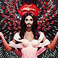Conchita Wurst au <b>Crazy</b> <b>Horse</b>