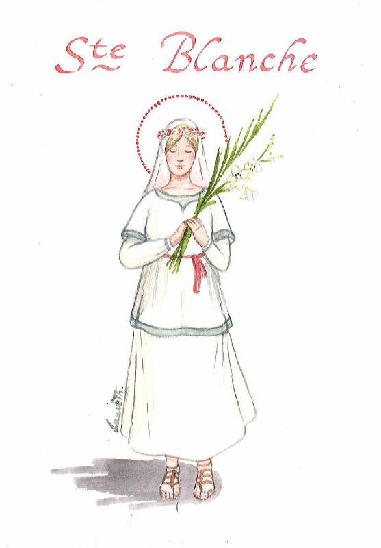 sainte Blanche, martyre