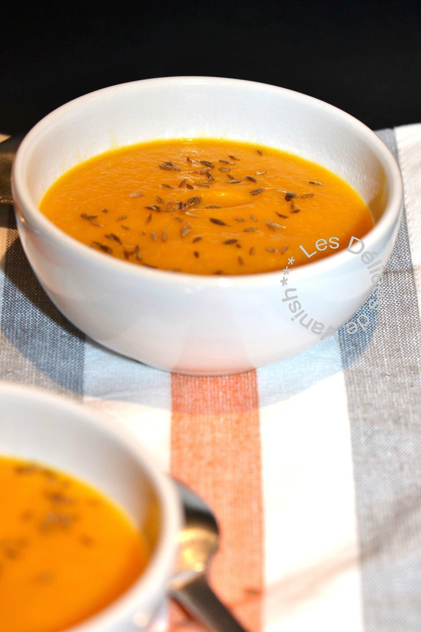 Crème de carottes au Quinoa (Recette Cookéo)