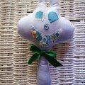 doudou BIGDULE bleu
