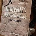 <b>Nouvelles</b> d'un nouveau monde, recueil collectif, Editions Jacques Flament