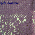 Un pull-over violet