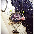 Lady Pimprenelle créatrice de bijoux rétro et romantiques