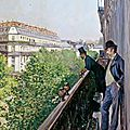 Exhibition in Madrid reveals Gustave <b>Caillebotte</b>'s thematic and stylistic evolution