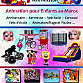 animation des <b>anniversaires</b> a <b>casablanca</b>
