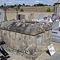 La Gaubretière (85) – Tombe de Jean-Félix Clabat du Chillou